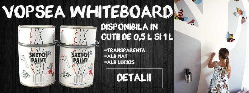 Vopsea Whiteboard