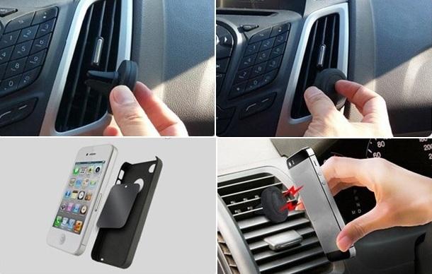 suport magnetic auto de telefon mobil