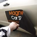 O modalitate usoara si ieftina de branding a flotei, cu folie magnetica cu autocolant