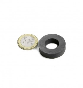 Magnet ferita inel pentru levitatia magnetica