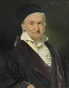 Johann Carl Friedrich Gauss (30 April 1777 – 23 February 1855) - matematician german care a contribuit semnificativ la multe domenii, inclusiv teoria numerelor, algebra, statistici, analize, geometrie diferențială, geodezie, geofizică, mecanică, electrostatică, câmpuri magnetice, astronomie, teoria matricei și optică.