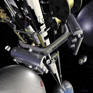 Lift spatial conceput de NASA