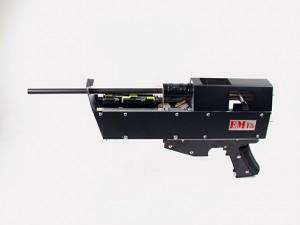 Accelerator electromagnetic cu o singură treaptă