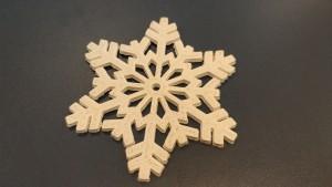Al doilea fulg printat 3D