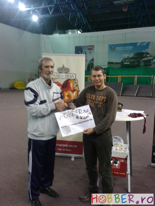 Premiu oferit de Hobber.ro lui Rusu Dan