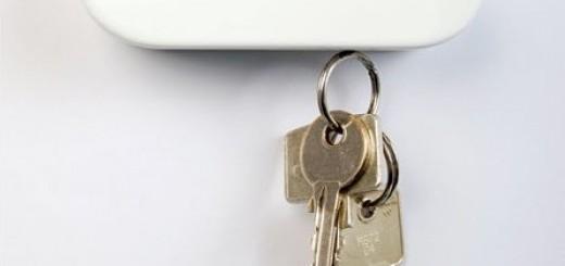 Suport magnetic pentru chei sub forma de nor
