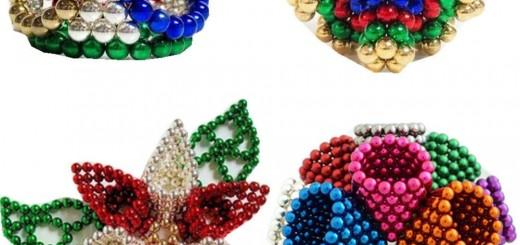 Figurine 3D din neocube, diverse culori