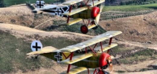 Baronul Rosu si pilotii care il sustin
