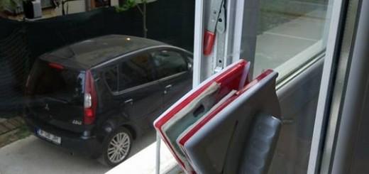 Stergator magnetic pentru ferestre exterioare