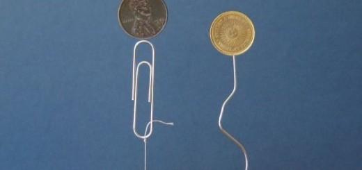 Cate lucruri poti realiza cu un simplu magnet potcoava, diverse materiale si multa imaginatie?