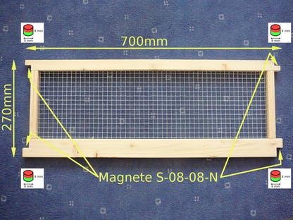 element-de-gard-fixat-cu-magneti