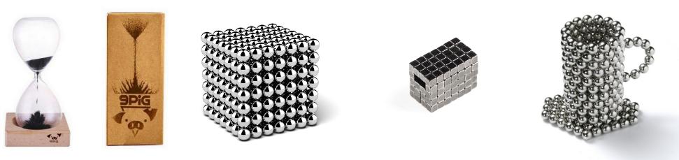 Clepsidra magnetica, neocube si alte seturi de magneti pentru fun