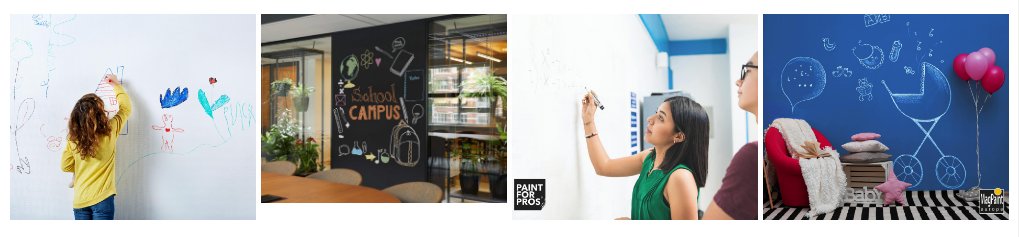 Cateva idei de utilizare pentru vopseaua whiteboard si blackboard
