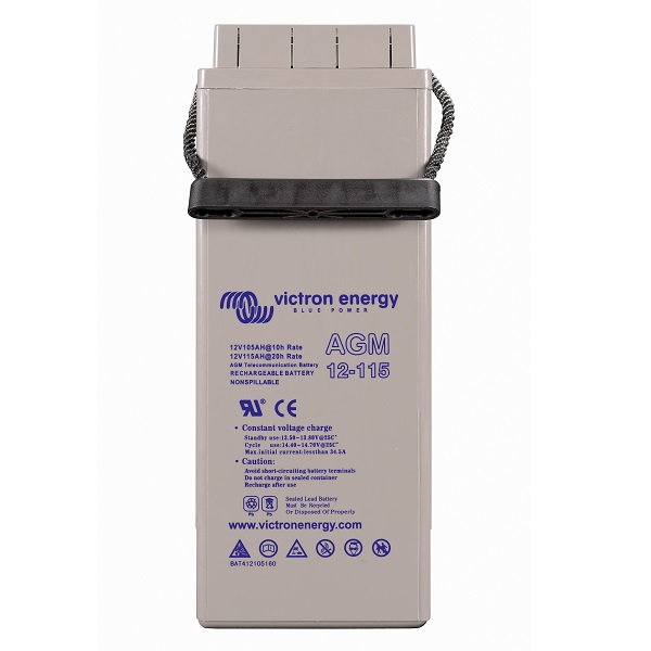 AGM Telecom Batteries 12V-115Ah