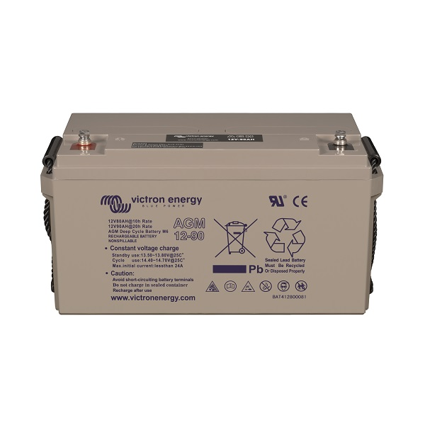 AGM Batteries 12V-90Ah (M6)