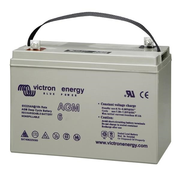 AGM Batteries 6V-240Ah