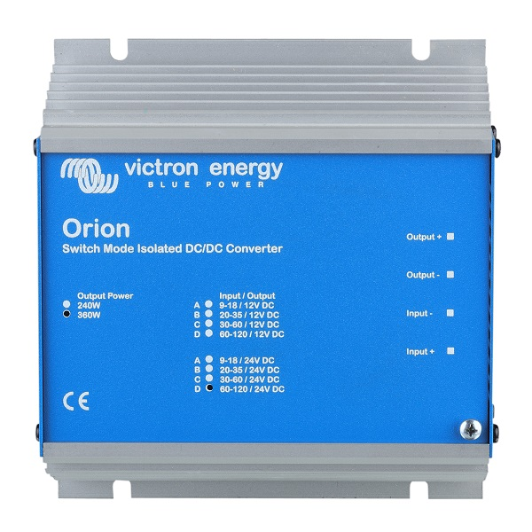 Convertor DC-DC Orion 12/24-8,3A (200W)