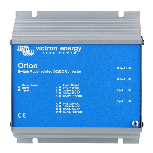 Convertor DC-DC Orion 24/12-30A (360W)