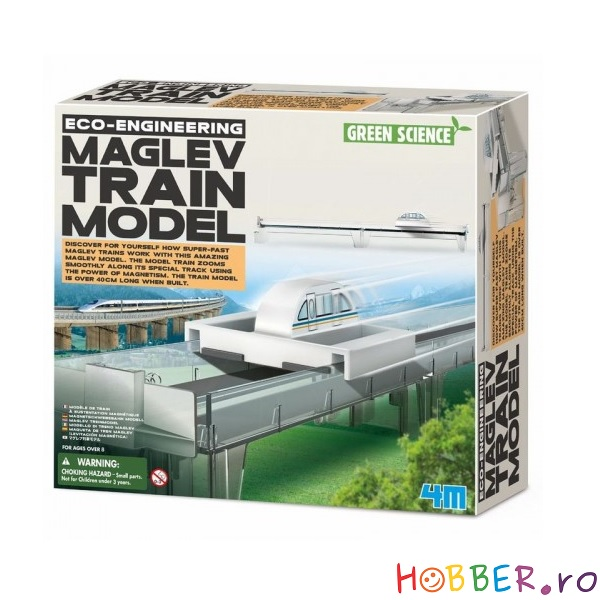 Joc de levitatie magnetica, model Maglev Train